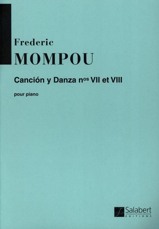 Cancion y danza N° 7 et 8 - Federico Mompou - laflutedepan.com