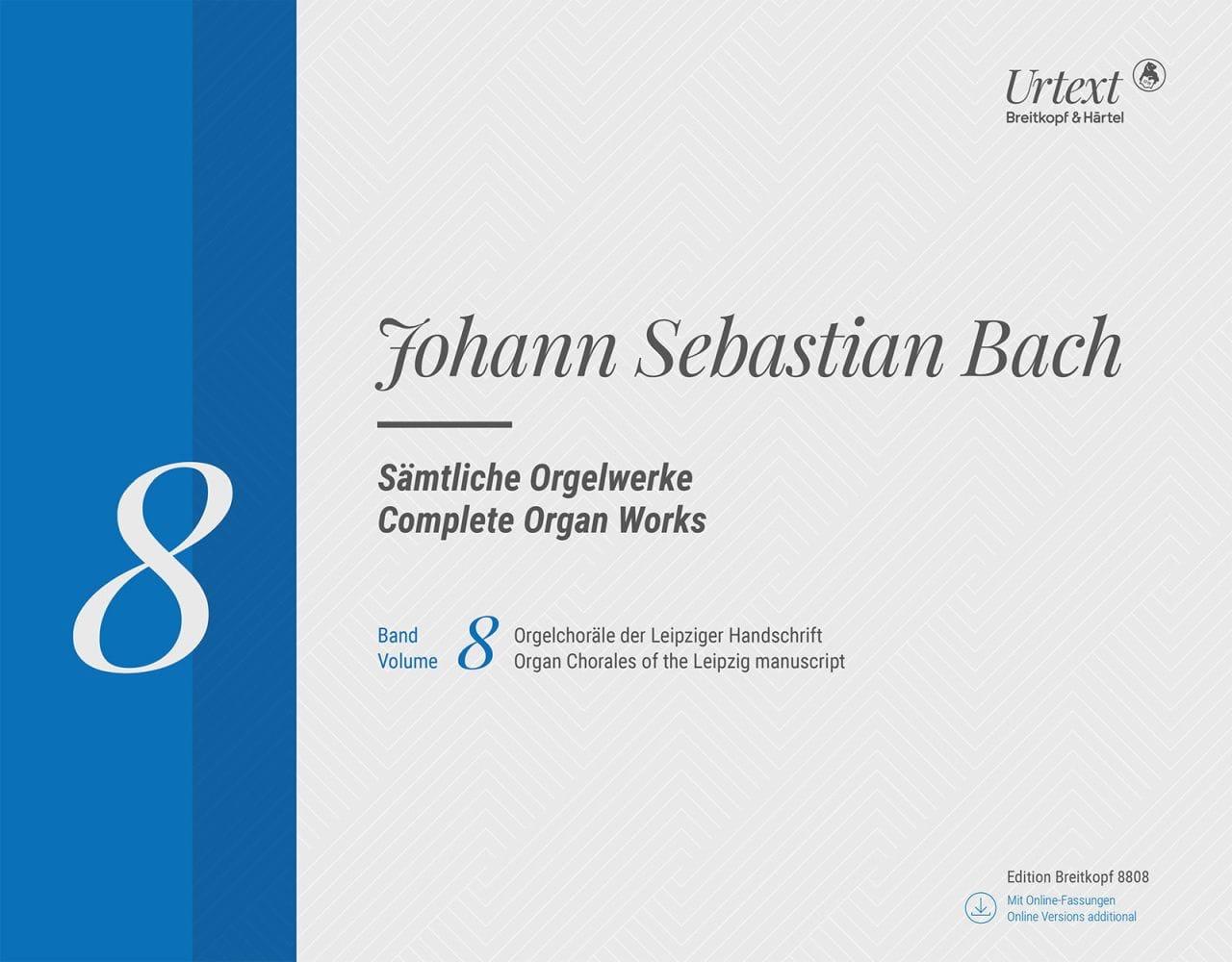 Sämtliche Orgelwerke Volume 8-Rom - BACH - laflutedepan.com