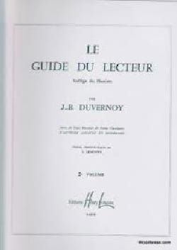 Guide du Lecteur Volume 2 DUVERNOY Partition Piano - laflutedepan