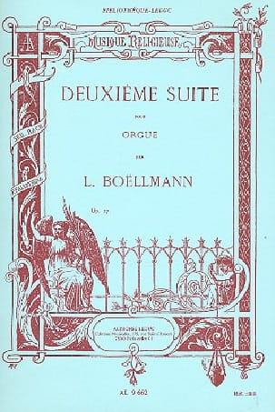 2ème Suite Opus 27 Pour Grand Orgue Léon Boëllmann laflutedepan