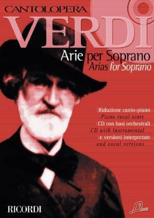 VERDI - Arie For Soprano. Volume 1 - Partition - di-arezzo.fr