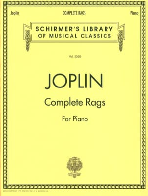 Complete Rags JOPLIN Partition Piano - laflutedepan