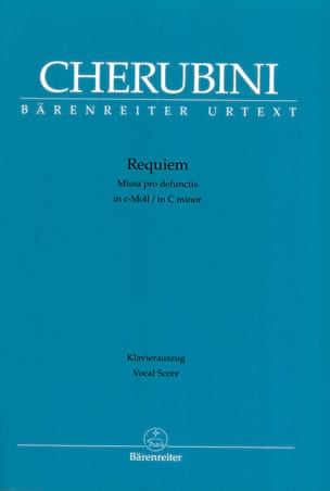 Requiem CHERUBINI Partition Chœur - laflutedepan