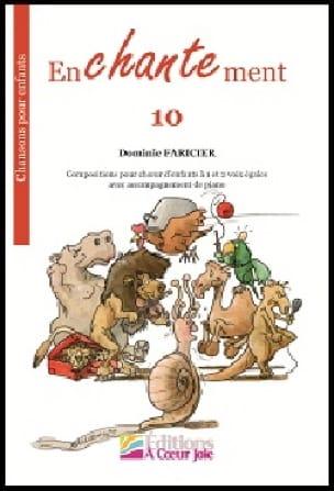 Enchantement 10 - Dominic Faricier - Partition - laflutedepan.com