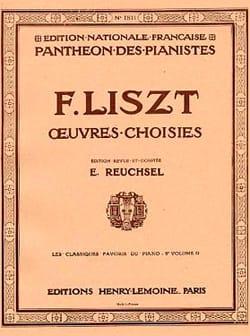 Classiques Favoris Volume 9D LISZT Partition Piano - laflutedepan