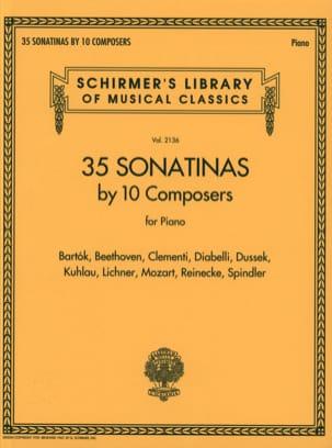 35 Sonatines Partition Piano - laflutedepan