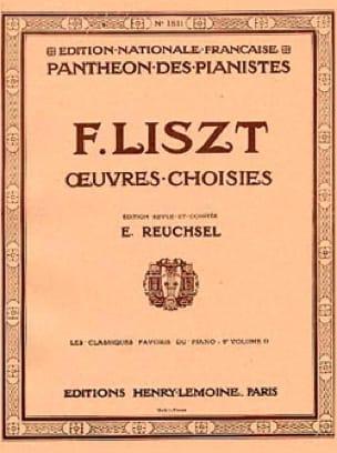 Classiques Favoris Volume 9D - LISZT - Partition - laflutedepan.com