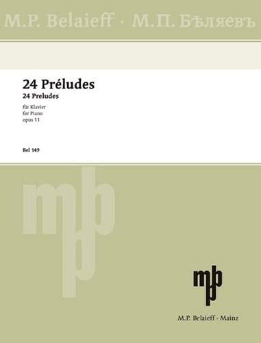 24 Préludes Opus 11 - SCRIABINE - Partition - Piano - laflutedepan.com