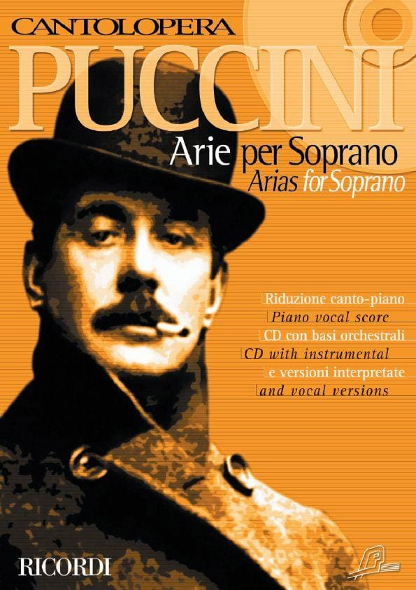 Arie For Soprano - PUCCINI - Partition - Opéras - laflutedepan.com