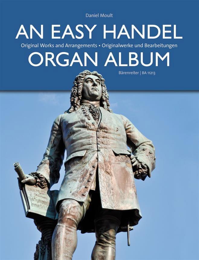 An Easy Haendel Organ Album - HAENDEL - Partition - laflutedepan.com