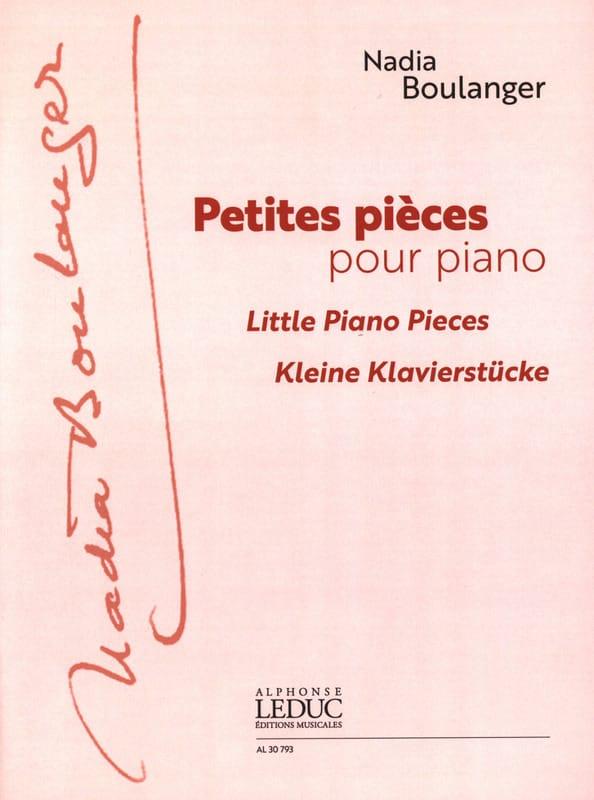 Petites Pièces Pour Piano - Nadia Boulanger - laflutedepan.com