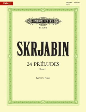 24 Préludes Opus 11 SCRIABINE Partition Piano - laflutedepan