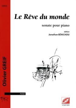 Sonate : Le Rêve Du Monde. Olivier Greif Partition laflutedepan