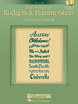 The Songs of Rodgers And Hammerstein - Ténor laflutedepan