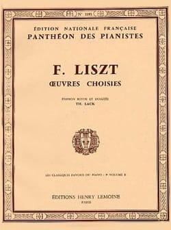 Classiques Favoris Volume 9B LISZT Partition Piano - laflutedepan