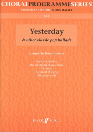 Yesterday and Other Classics Pop Ballads Partition laflutedepan