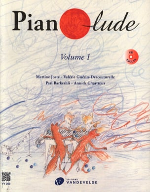 Pianolude - Volume 1 Partition Piano - laflutedepan
