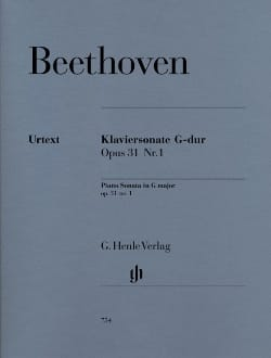 Sonate Pour Piano N° 16 En Sol Majeur Opus 31 N° 1 laflutedepan