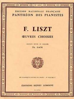 Classiques Favoris Volume 9C LISZT Partition Piano - laflutedepan