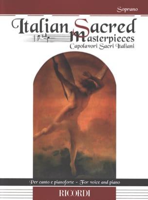 Italian Sacred Masterpieces. Soprano Partition laflutedepan