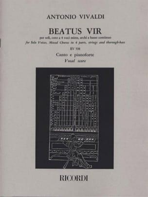 VIVALDI - Beatus Vir - Partition - di-arezzo.com