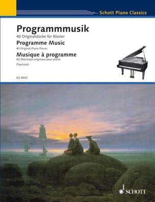 Programmmusik Partition Piano - laflutedepan
