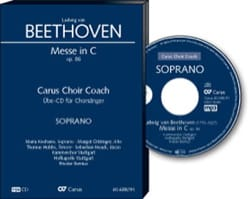 Messe En Ut Opus 86. CD Soprano CHOEUR - BEETHOVEN - laflutedepan.com