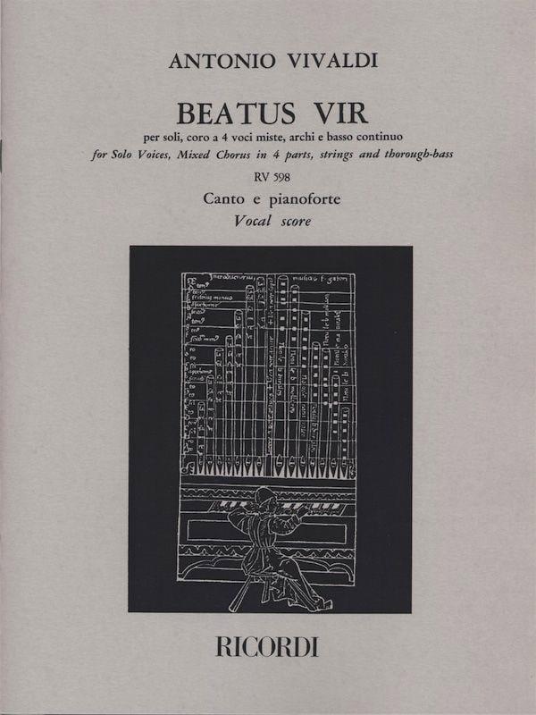 Beatus Vir - VIVALDI - Partition - Chœur - laflutedepan.com