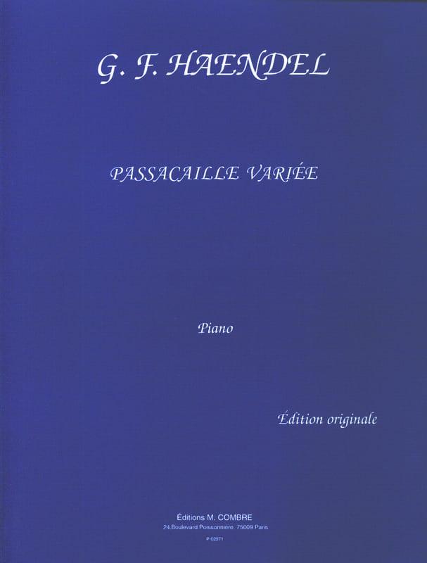 Passacaille Variée de la Suite HWV 432 - HAENDEL - laflutedepan.com