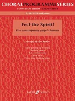 Feel The Spirit Partition Chœur - laflutedepan