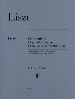 Franz Liszt - consuelos - Partition - di-arezzo.es