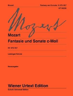 Fantaisie et Sonate en do mineur K 475 / 457 MOZART laflutedepan