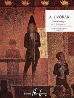 Humoresque Opus 101-7 - DVORAK - Partition - Piano - laflutedepan.com