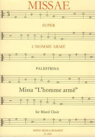 Messe de L'homme Armé PALESTRINA Partition Chœur - laflutedepan