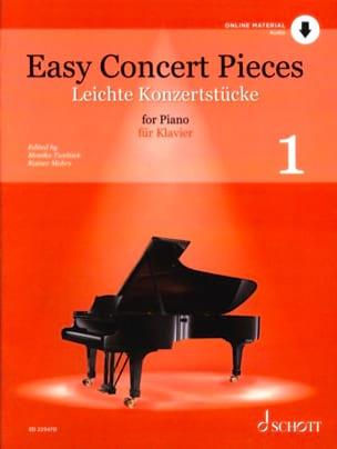 Easy Concert Pieces Volume 1 Partition Piano - laflutedepan