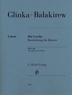 L'Alouette Mili Balakirev Partition Piano - laflutedepan