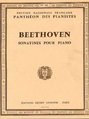 6 Sonatines - BEETHOVEN - Partition - Piano - laflutedepan.com