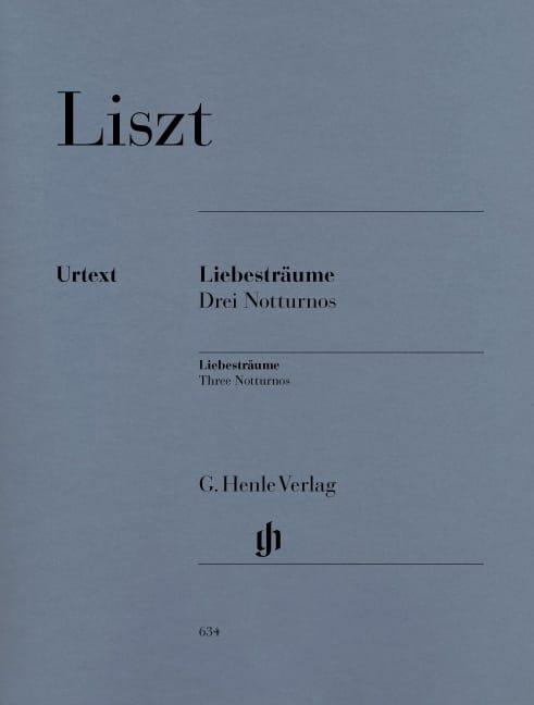 Liebesträume 3 Notturnos - LISZT - Partition - laflutedepan.com