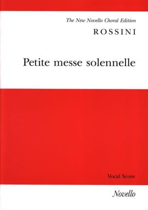 Petite Messe Solennelle ROSSINI Partition Chœur - laflutedepan