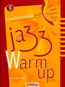 Jazz Warm Up Pierre-Gérard Verny Partition Pédagogie - laflutedepan
