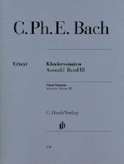 Sonates choisies pour piano Volume 3 laflutedepan