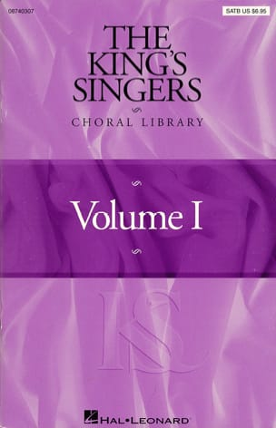 The King's Singers Choral Library Volume 1 Partition laflutedepan