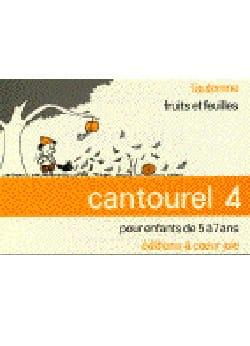 Cantourel 4 Partition Chœur - laflutedepan