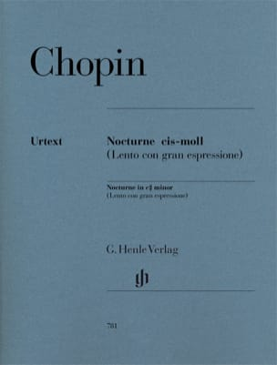 CHOPIN - Notturno In do diesis Opus minore Postumo - Partition - di-arezzo.it