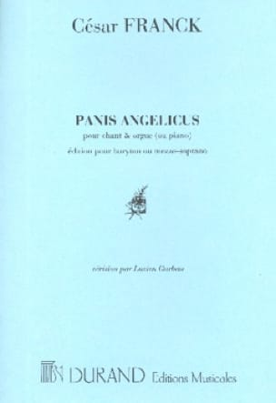 Panis Angelicus - Voix Moyenne - FRANCK - Partition - laflutedepan.com