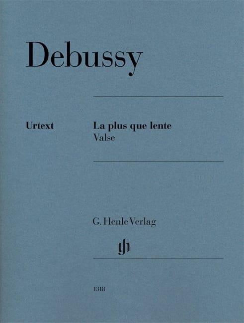 La plus que lente - Valse - DEBUSSY - Partition - laflutedepan.com