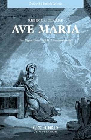 Ave Maria - Rebecca Clarke - Partition - Chœur - laflutedepan.com