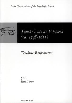 Tenebrae Responsories Tomas Luis de Victoria Partition laflutedepan