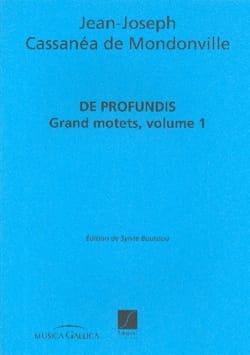 De Profundis Grands Motets Volume 1 laflutedepan