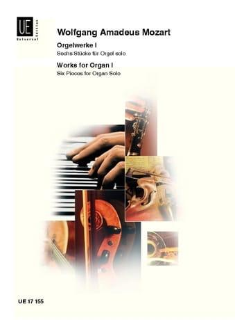Oeuvre d'Orgue Volume 1 - MOZART - Partition - laflutedepan.com